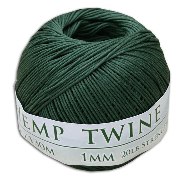 Hunter Green Hemp Twine