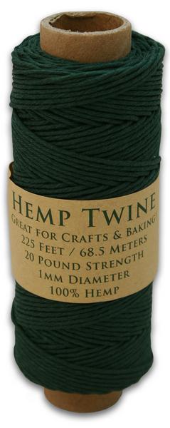 Hunter Green Hemp Twine Spool