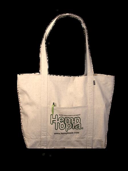 Reusable Hemp Bag - The Grocer w/logo - Tote