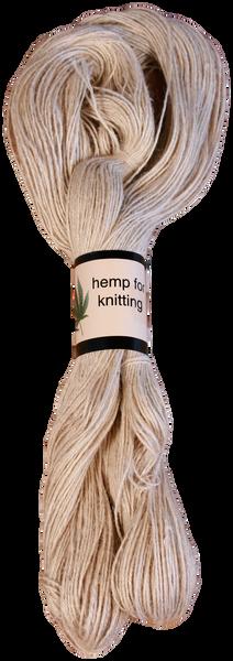 Hemp Knitting Yarn - 100% All Natural