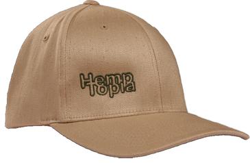 Hemptopia Hemp Cap w/logo - Beige