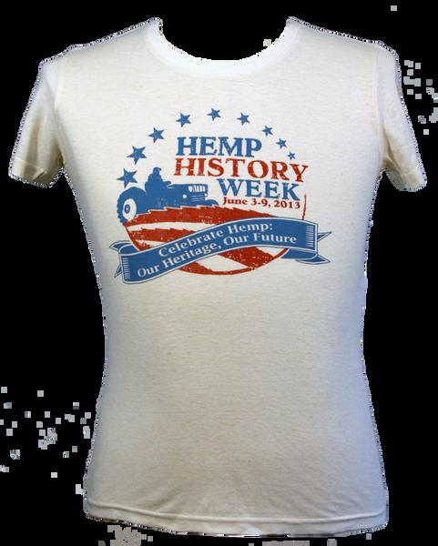 Womens Hemp History Week T-Shirt - Front