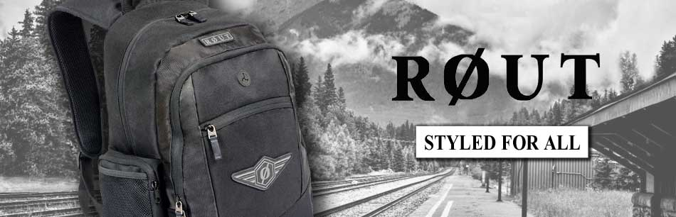 Rout Sport Wallets, Backpacks, Messanger Bags, Slings, Voyager, Adventurer