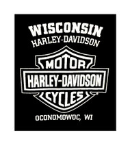 Harley-Davidson® Men's Sleeveless Muscle Tee, True Patriot Graphic, Black - A
