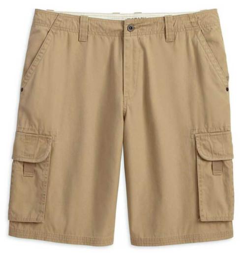 Harley-Davidson® Men's Cargo Shorts Khaki Colored 10.5'' Inseam ...