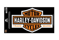 Harley-Davidson® Long Bar & Shield Large Size Decal D3125