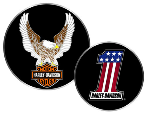 Harley-Davidson® #1 Winged Eagle Bar & Shield Challenge Coin 1.75'' 8002954