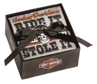Harley-Davidson® Napkin Rally Party Set, 2 Packs of 20, Beverage Size P5514909