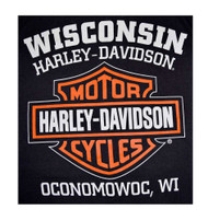Harley-Davidson® Men's Bar & Shield Logo Muscle Shirt Tank Top, Black 30296623 - A
