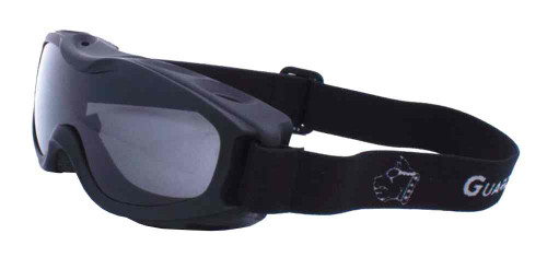 Guard-Dogs Evader II Motorcycle Airsoft Goggles Smoke Lens Matte Black 055-12-01