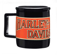 Harley-Davidson® Transportation Ceramic Coffee Mug, 14 oz. Black 99215-16V