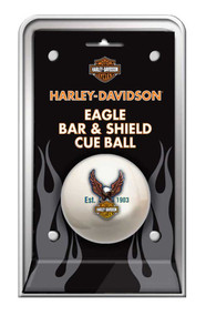Harley-Davidson® Bar & Shield Eagle Cue Ball HDL-11149
