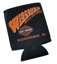Harley-Davidson® Wisconsin Harley Custom Can Koozies CANWRAP - A