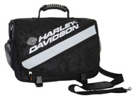 Harley-Davidson® X-Treme Reflective Stripe Messenger Bag, Nightvision 99216