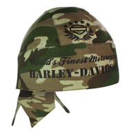 Harley-Davidson® H-D Army Green Camouflage Head Wrap HW02225
