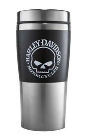 Harley-Davidson® Willie G Skull Insulated Travel Mug 16 oz, Coffee Mug 99223-16V