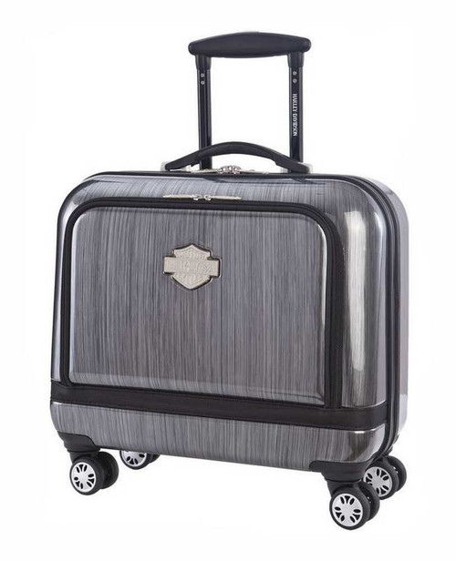 Harley-Davidson® 17-in Overnight Carry-On, Light Weight, Steel Gray 99916-STLGRY - D