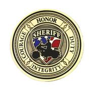 Harley-Davidson® Sheriff Service Challenge Coin 1.75'' Gold Color 8002930