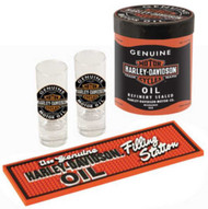 Harley-Davidson® Genuine Oil Can Shot Glass Set HDL-18703