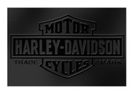 Harley-Davidson® Embossed Bar & Shield Stainless Steel Rolling Cooler HDL-10065 - D