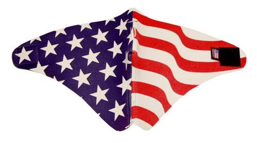 Half Face Riding Mask, American Flag, Motorcycle & ATV Cold Weather Mask 502F - A