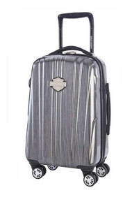 Harley-Davidson® 18 Inch Carry-On, Light Weight Wheeled, Steel Gray 99918-STL/GRY - D