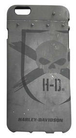 Harley-Davidson® iPhone 6 Plus Shell, Distressed Willie G Skull TPU Case 07730