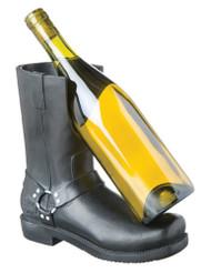 Harley-Davidson® Riding Boot Wine Bottle Holder, Bar & Shield Logo 2BHB4900 - A