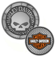 Harley-Davidson® Willie G. Skull Bar & Shield Challenge Coin 1.75'' 8002961