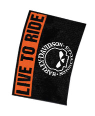Harley-Davidson® Willie G. Skull Live To Ride Estate Flag 30 x 43 HD-EST-1490