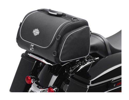Harley-Davidson® Bar & Shield Overnight Luggage Bag Black Nylon 93300005
