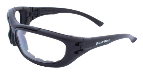 Guard-Dogs Dustbuster 4 Changers FogStopper Airsoft Eyewear, Black 180-71-01