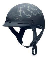 Harley-Davidson® Men's Smoke Hybrid II Ultra-Light Half Helmet 98284-14VM - A