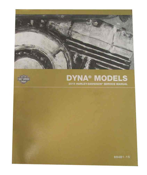 Harley-Davidson® 2015 Dyna Models Motorcycle Service Manual 99481-15