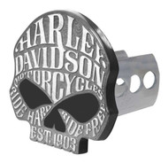 Harley-Davidson® Willie G Sugar Skull Hitch Cover, Universal 2 & 1.25 Inch 2292