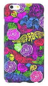 Harley-Davidson® Women's Allover Floral iPhone 6 Plus Phone Shell, 8308