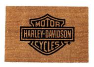 Harley-Davidson® Bar & Shield Logo Door Mat, Coco Fiber 29x19 Rug. 99202-14V