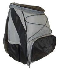 Harley-Davidson® PTX Backpack Cooler, Bar & Shield Logo, Gray 633-00 - A