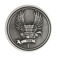 Harley-Davidson® Challenge Coin, Freedom Is Not Free / Bar & Shield 8003135 - A