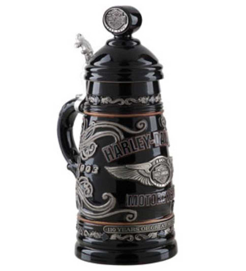 Harley-Davidson® 110th Anniversary Stein HDL-18604 Limited Edition - C