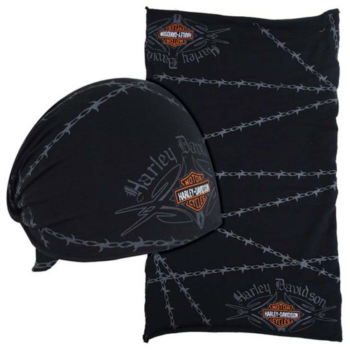 Harley-Davidson® Barbed Wire Native Multifunctional Headwear Wrap. MHW69030 - A