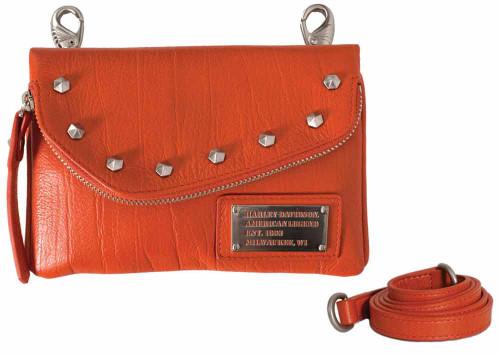 Harley Davidson Womens All Bark Orange Hip Bag AB7755L-ORG