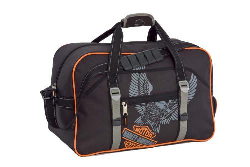 Harley-Davidson® 20'' Black Carry-On Gear Bag Duffel 99602 - A