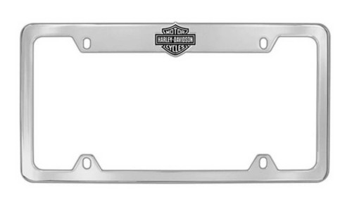 Harley-Davidson® Bar & Shield License Plate Frame Chrome HDLFE14-U
