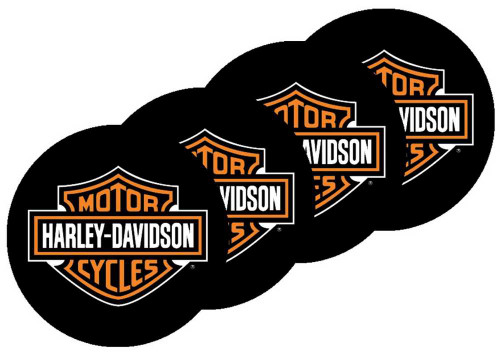 Harley-Davidson® Bar & Shield Neoprene Coasters - Set of 4 CS30230