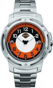 Harley-Davidson® Men's Bulova Bracelet Wrist Watch. 76B152