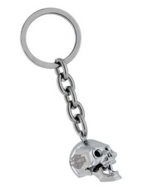 Harley-Davidson® 3D Skull Key Chain With Moving Jaw HDK191