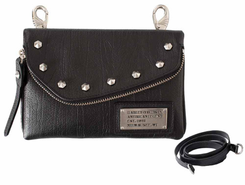 Harley Davidson Womens All Bark Black Hip Bag AB7755L-Black