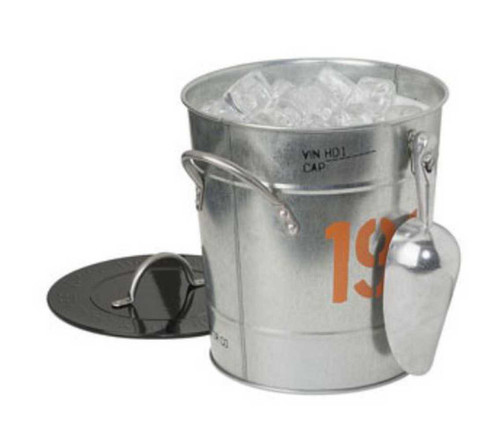Harley-Davidson® 1903 3.75 Quart Galvanized Ice Bucket HDL-18532