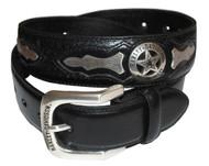 Harley-Davidson® Mens Deputy Leather Belt HDMBT10006